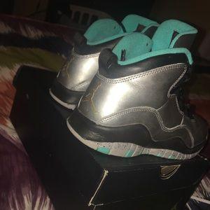 """Nike Shoes - Air Jordan 10 """" lady liberty """""""